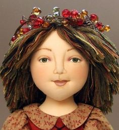 Under the Harvest Moon cloth doll E-PATTERN