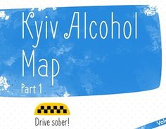 """Check out new work on my @Behance portfolio: """"Kyiv Alcohol Map"""" http://be.net/gallery/35955261/Kyiv-Alcohol-Map"""