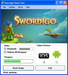 Try Swordigo Hack Tool download 2016 update version. Hack Swordigo Hack Tool with cheat. Hack Swordigo Hack Tool on smartphone directly. New cheats available in this moment.
