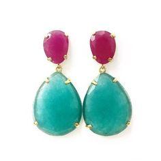 Jewelry Trends, Drop Earrings, Stone, Bracelets, Earrings, Necklaces, Beading, Green Agate, Carnelian