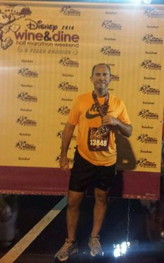 Disney Wine and Dine Half Marathon Finish