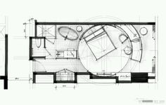 Hotel Design FloorPlan Sketch