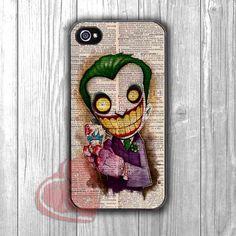 Joker Vintage Paper Art - zzd for iPhone 4/4S/5/5S/5C/6/6+s,Samsung S3/S4/S5/S6 Regular/S6 Edge,Samsung Note 3/4