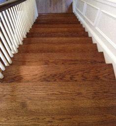 Red Oak with Medium Brown Stain | Kashian Bros. Carpet and Flooring, Wilmette, IL