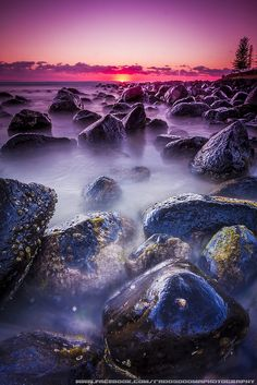 Sunrise ~ Burleigh Heads Beach, Gold Coast, Australia