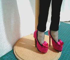 Sapatos de boneca  Doll shoes