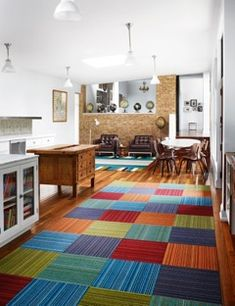 Fresh Carpet Squares for Basement Floors