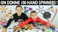 NÉO DONNE 100 HAND SPINNERS - TOUTE SA COLLECTION À GAGNER  !!!  😱
