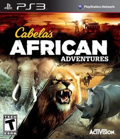 Cabelas African Adventures  PlayStation 3 ** More info could be found at the image url. Note:It is Affiliate Link to Amazon.