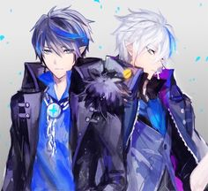 Seto and moku. They are twins. With their fighting skills (blowing things up skills if you ask me) they can out witt everyone.