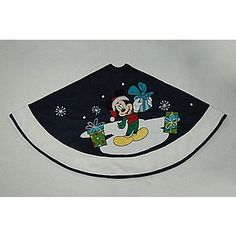 Mickey Mouse Disney Christmas Tree Skirt Handmade And By Krissyde. For  Carteru0027s Tree.