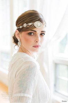 """Edera 2016 Bridal Accesories Collection 
