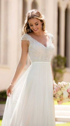 1dca221d012 Courtesy of Stella York Wedding Dresses Elegant Wedding Dress