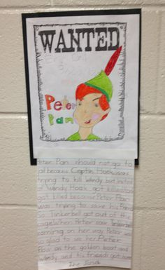 Writing-Argue if Peter Pan should go to jail for pushing Captain Hook over the boat