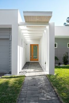 Sharp Residence - modern - entry - jacksonville - kmh design, inc.