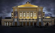 Viisisataa tahtoi mukaan TT:n Les Misérablesiin - Yle Uutiset Tampere Big Town, Les Miserables, Finland, Gazebo, Outdoor Structures, Mansions, House Styles, Places, Theatre