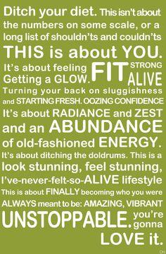 Change you lifestyle!