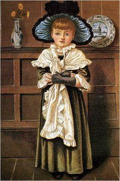 Children - Paintings of Kate Greenaway