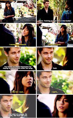 "#AgentsofSHIELD 2x17 ""Melinda"" - Skye and Lincoln"