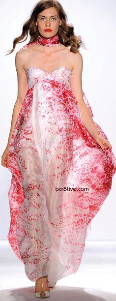 Gattinoni Spring Summer 2011 Ready to Wear - Pretty in Pink