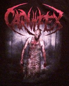 CARNIFEX Band Back To Kill Again Bloody Butcher T-Shirt Black