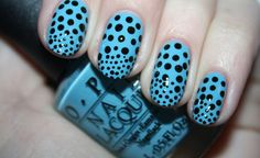 Polka Dot Party nail art by Polish You Pretty! Click the photo to see the full tutorial!