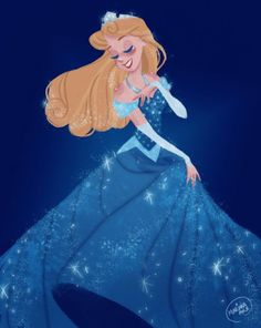 marianaavilal: An illustration I did last September, inspired by the Limited Edition Aurora Doll released for Disneyland's Diamon Celebration.Prints and other fun stuff available here and here Disney Pixar, Film Disney, Disney Animation, Disney And Dreamworks, Disney Cartoons, Disney Dream, Cute Disney, Disney Girls, Disney Magic