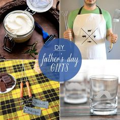 Make dad's day with a heartfelt DIY gift for Father's Day.
