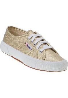 Superga Sneakers - 2750 Sneaker Gold Canvas