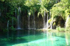 lac de #plitvice #croatie #chute d'eau
