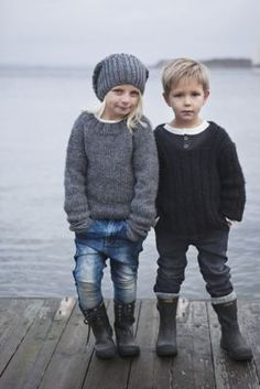 Perfect fall outfits for Lily and Damian!