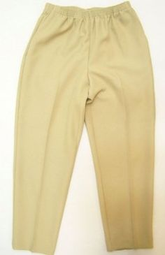 00e4dc5f175 Women s Plus Alfred Dunner Classics Elastic Waist Pants (bestseller)