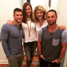 Tim Tebow and his siblings.