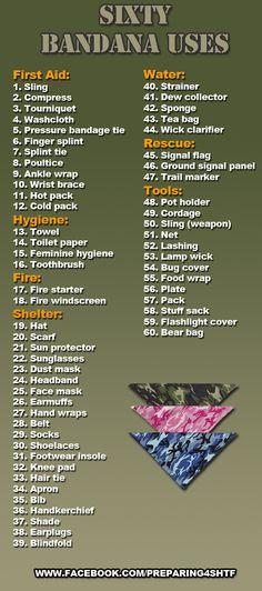 60 Uses for a Bandana