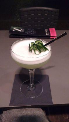 Lemon & Cucumber Gimlet. My favorite Gin Cocktail. #TTDD