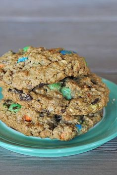 Protein monster cookie recipe (no flour!)