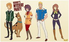 the Fishpond: Challenge Accepted: Scooby gang redesign