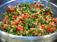 Global CookBook: Tabouleh Salad (Lebanese Recipe)