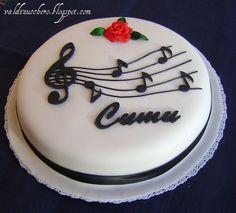 Music Themed Cakes, Music Cakes, Cupcakes, Cupcake Cakes, Beautiful Cakes, Amazing Cakes, Bolo Musical, Bolo Diy, Rodjendanske Torte