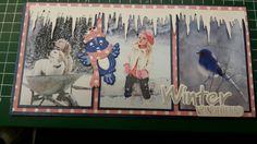 Winter kaart