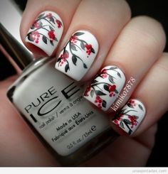 Inspiring Winter Nail Art Designs & Ideas For Girls 2013/ 2014. Description from pinterest.com. I searched for this on bing.com/images