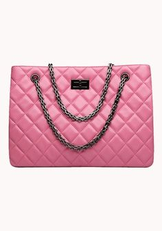 Lucia Tote Lambskin Pink