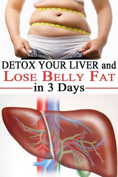 If you want to get rid of belly fat, a detoxification cure is the answer! Detox your liver and the fat in the abdominal area will disappear. Here's how to do it.