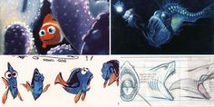 Finding+Nemo:+60++Original+Concept+Art+Collection