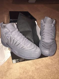 1a1e67d4d70058 AIR-JORDAN-12-XII-PSNY-Public-School-Rare-Limited-Grey-130690-003-W-receipt -DS