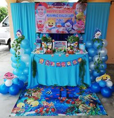 131 Best Baby Shark Birthday Party images in 2020 | Shark ...