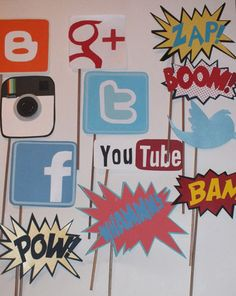 Got a tech-obsessed youngster? These social media photo props will be the envy…