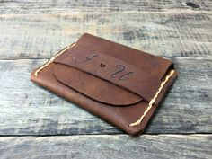 Flap Wallet Leather Wallet Personalized Wallet by NiceLeather1