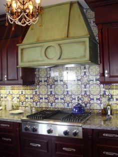 """I am captivated by """"azulejos"""" and would love to have some (on a smaller scale) in my home one day."""