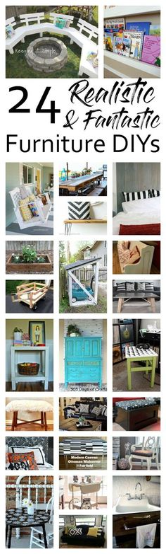 It's always about this time of the summer that I want to get busy on some great new furniture projects to get the house ready for fall coming. Here are some great projects to inspire  Fire Pit Sofa Bench|DIY Front Facing Book Shelves Crib to a Porch Swing|DIY Pallet Outdoor Dining Table|Build a Bench …